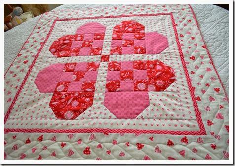 swedish heart quilt
