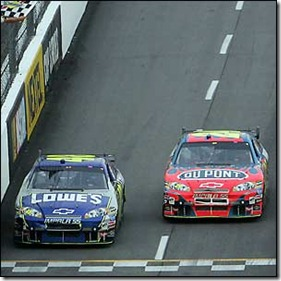 Ken Symes' favourite drivers: Jimmie Johnson and Jeff Gordon