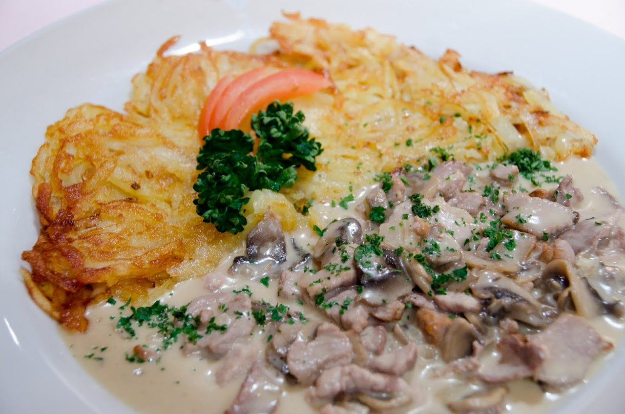 Veal schnitzel