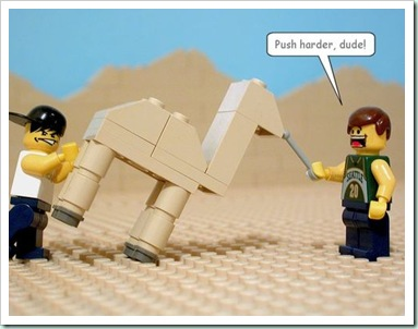 camel needle lego