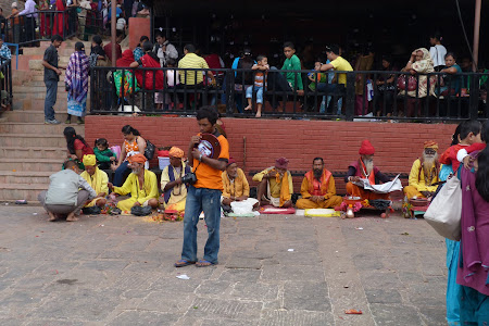 Oameni sfinti Nepal