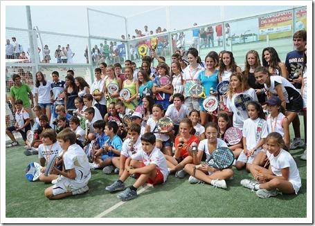 Resultados del Campeonato de España de Pádel Menores 2011 celebrado en Madrid BARBARA LAS HERAS