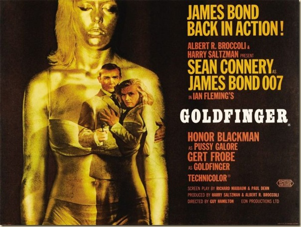 Affiche cinéma de James Bond (3)