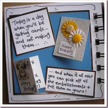 Birthday Bind It All Book