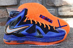 nike lebron 10 ps elite blue black 6 02 Release Reminder: Nike LeBron X P.S. Elite Superhero