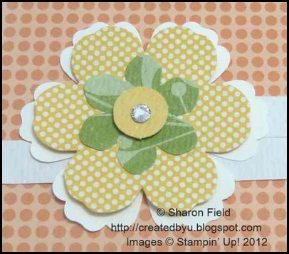 extra BLOSSOM punch layer added to die cut blossom builders