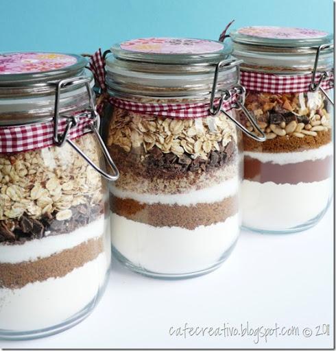 Ben noto Tutorial - La ricetta dei biscotti in vaso - Cafe Creativo PI26