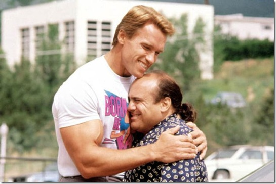 'Twins' film - 1988...No Merchandising. Editorial Use Only