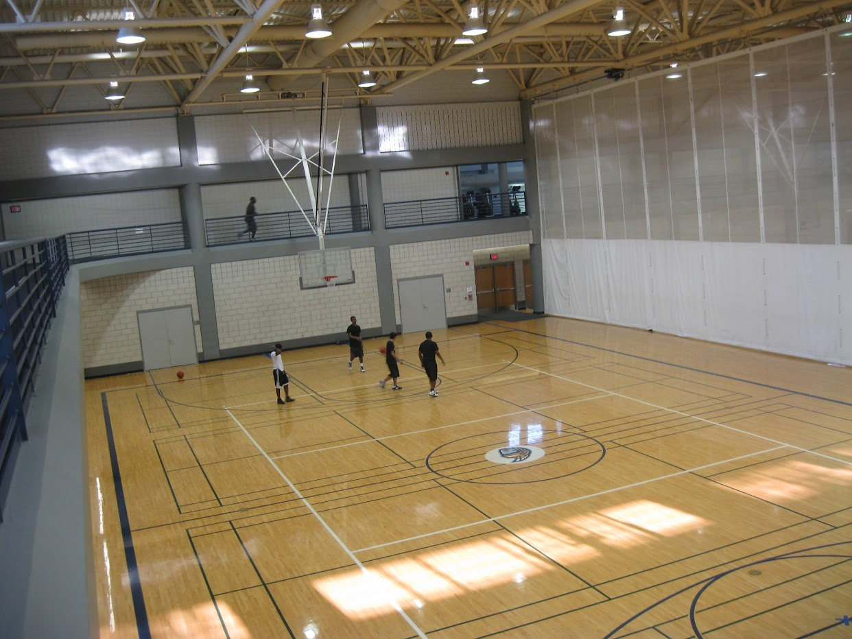 32 Model Indoor Home Basketball Court Wallpaper Cool Hd