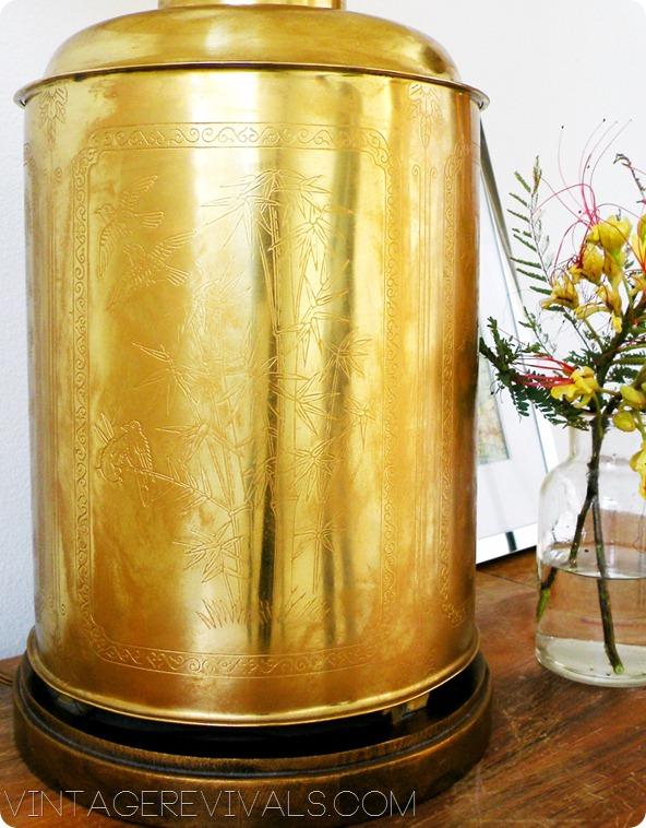 Oriental Brass Lamp
