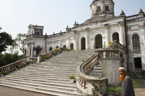 Stair of Tajhat Palace