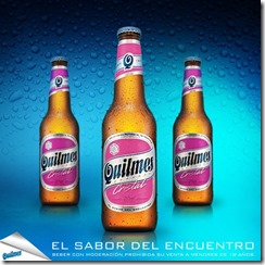 Quilmes rosa