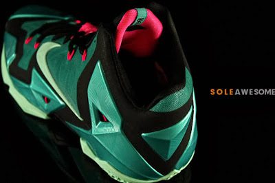 nike lebron 11 gr south beach 2 07 Nike LeBron XI South Beach Release Date (616175 330)