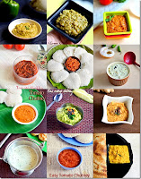 Chutney recipes for idli,dosa