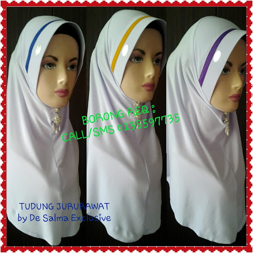 PRE ORDER - TUDUNG JURURAWAT ( BOOKING NOW ) Stok akan siap 12 okt 2012 ( jumaat) last book 12 okt 2012 ( before 9am )   Colour line available   Blue,Yello,Purple,White ( 1 kodi @ 20 lai x 4 colour ) ( 1 kodi @ 20 lai x 2 colour ) ( 1 kodi @ 20 lai x 1 colour )
