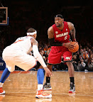 lebron james nba 130301 mia at nyk 32 LeBron Debuts Prism Xs As Miami Heat Win 13th Straight