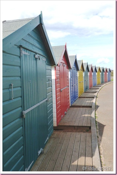 Copy of Beach Huts At dawlish Warren