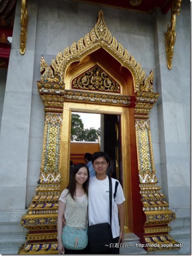 泰國曼谷-大理石寺側門