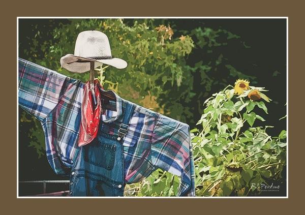 Scarecrow mat