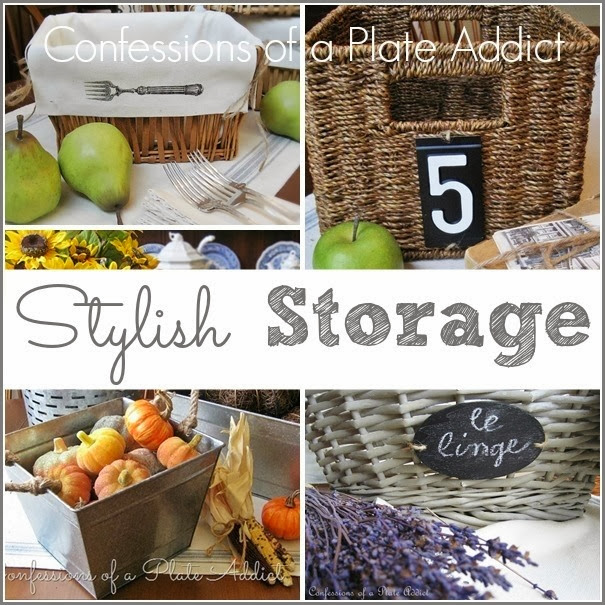 CONFESSIONS OF A PLATE ADDICT Stylish Storage