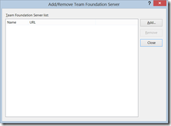 TFS_AddRemoveServer