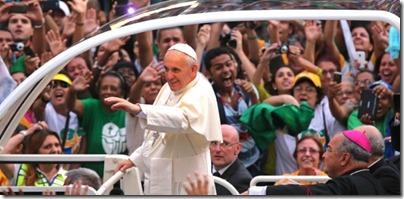 Primeiro desfile Papa