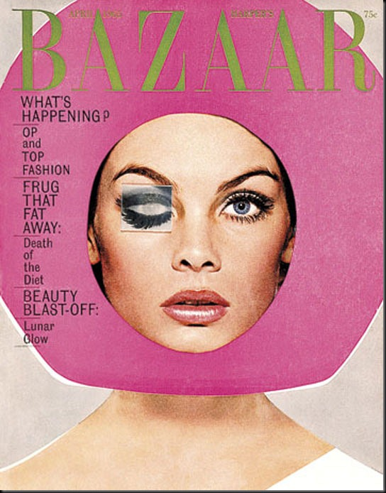 Harpers-Bazaar-US-April-1965-Vintage-Cover