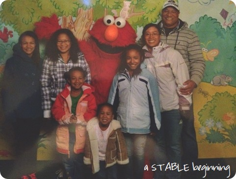 Elmo at Busch Gardens