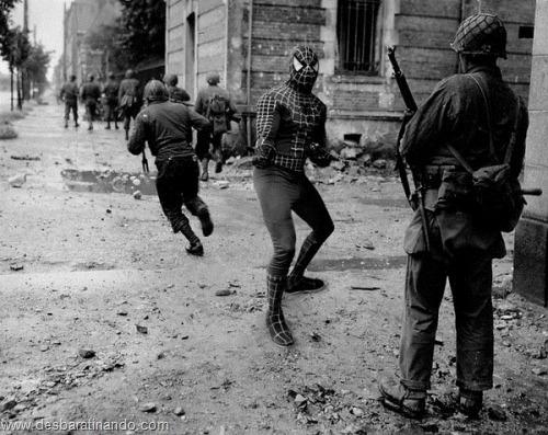 super hero super herois antigos segunda guerra mundial desbaratinando (11)