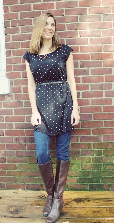 what we wore polka dots