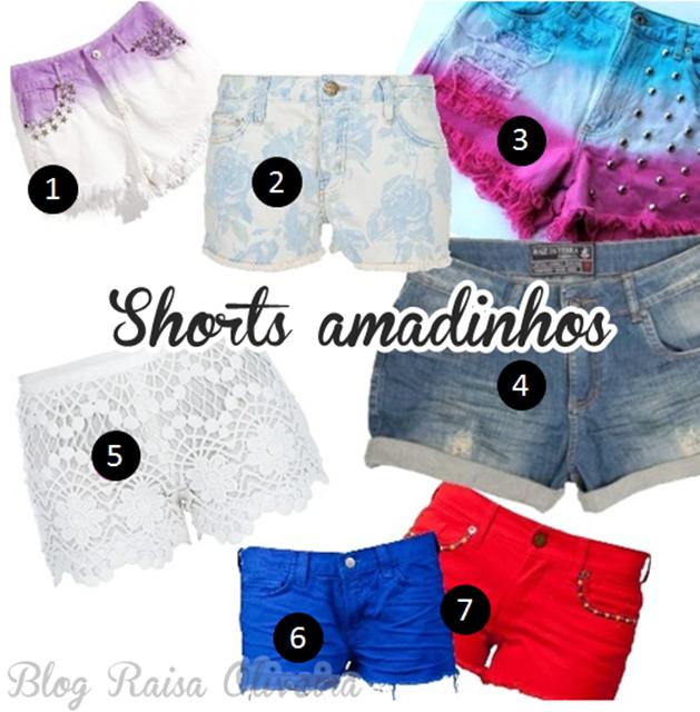 Shorts amados