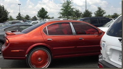 orange pimpmobile