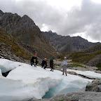 Ледник в долине Зунгол