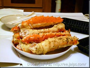 北海道巨無霸帝王蟹-蟹腿