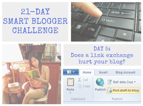 Smart Blogger Challenge day 5