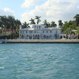tony montana mansion on star island in Miami, Florida, United States