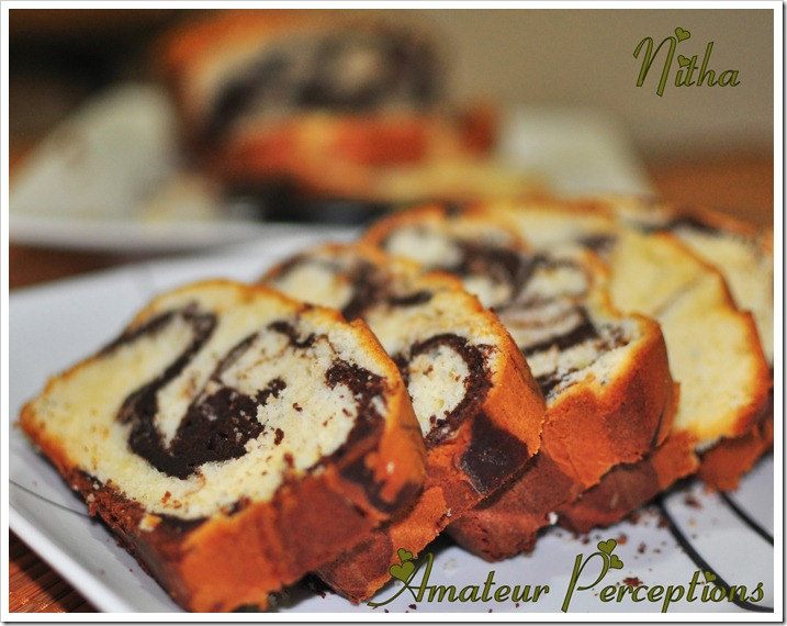 Marble cake 5