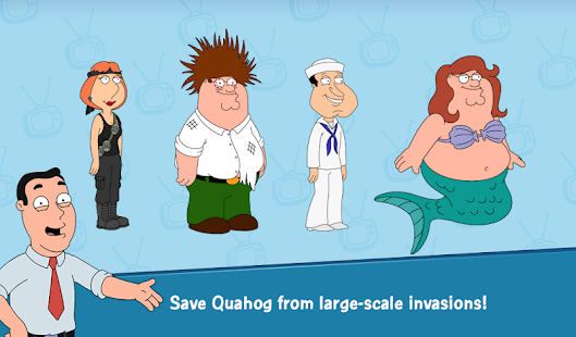 Game Family Guy The Quest for Stuff APK for Kindle