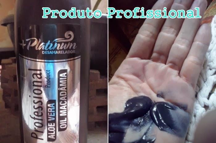 Platinum Desamarelador Professional (Matizador)