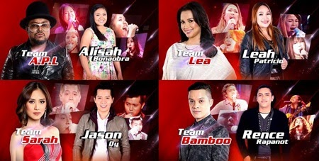 The Voice Season 2 Top 4