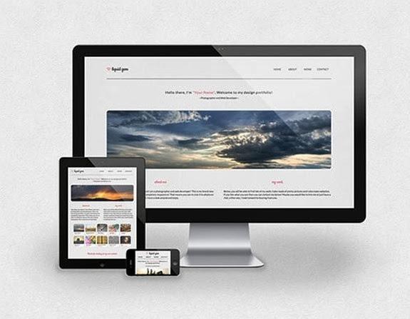 10 nuevas plantillas HTML5 con Responsive Design 6