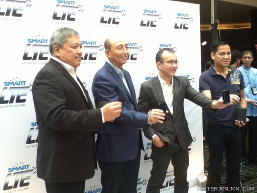 Smart 4G LTE Multi-band - Smart and PLDT Executives