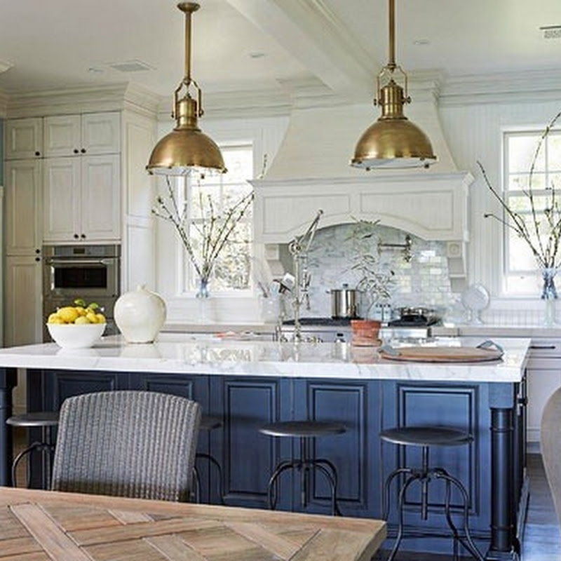 Country Modern Kitchen Island Lighting