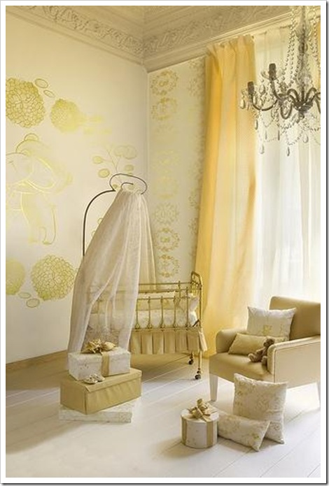 Gender Neutral Nursery Gold1