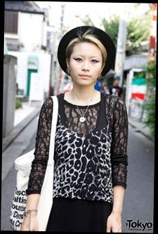 Nadia Staffer Yu-Chin in Topshop Cami & Black Maxi Skirt