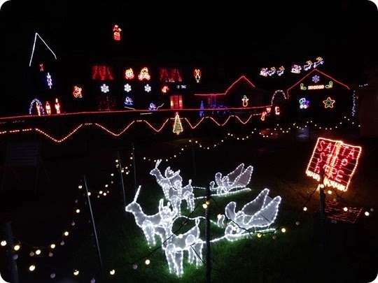 Weston - Charity Christmas Light Display