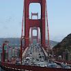 Front Traffic of Golden Gate Bridge