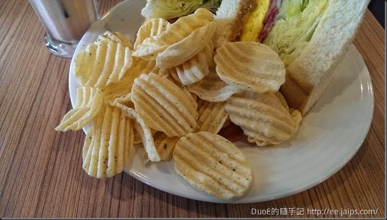 鯊魚咬吐司洋芋片