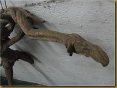 Patung hanoman sinta - kaki sinta