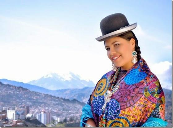 Cholitas en Bolivia